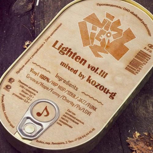 DJ kozou-g フリーダウンロード NEW MIX『Lighten vol.3』